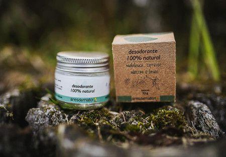 Desodorante Creme 100% Natural e Vegano- Ares de mato