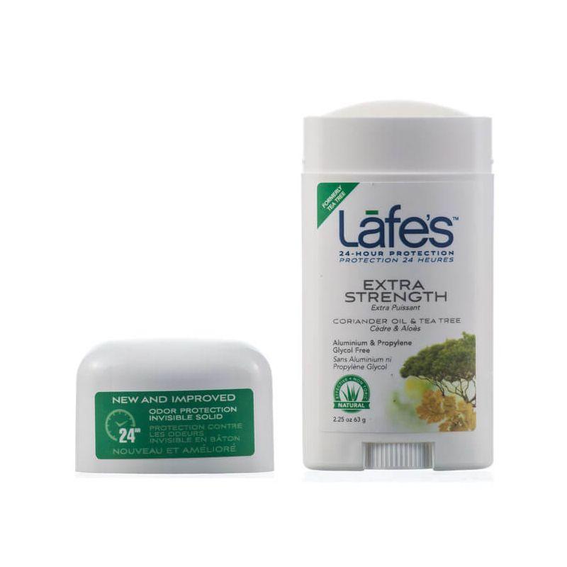 Desodorante Natural Twist  Extra Strength Lafe's Coentro e melaleuca 63g