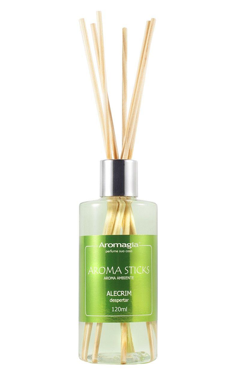Difusor por varetas Aroma Sticks Aromagia - Alecrim 120ml - WNF