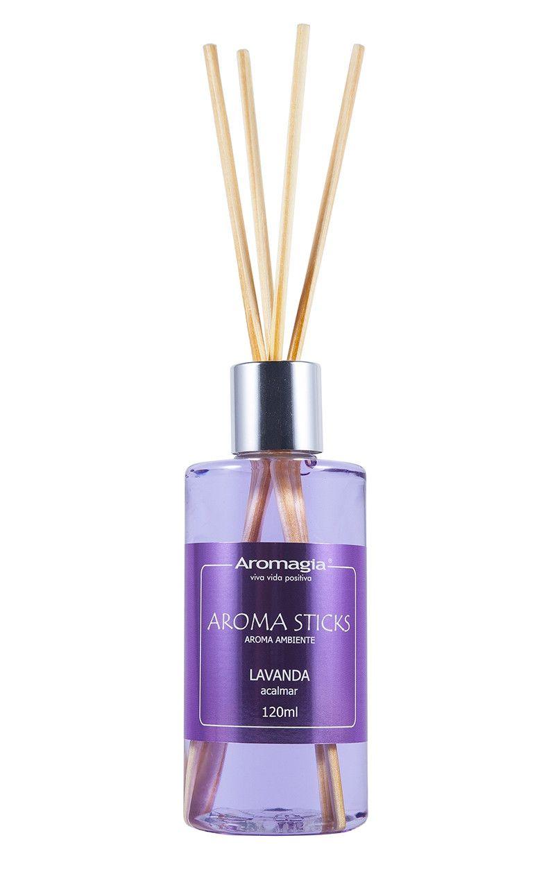 Difusor por varetas Aroma Sticks Aromagia - Lavanda 120ml - WNF