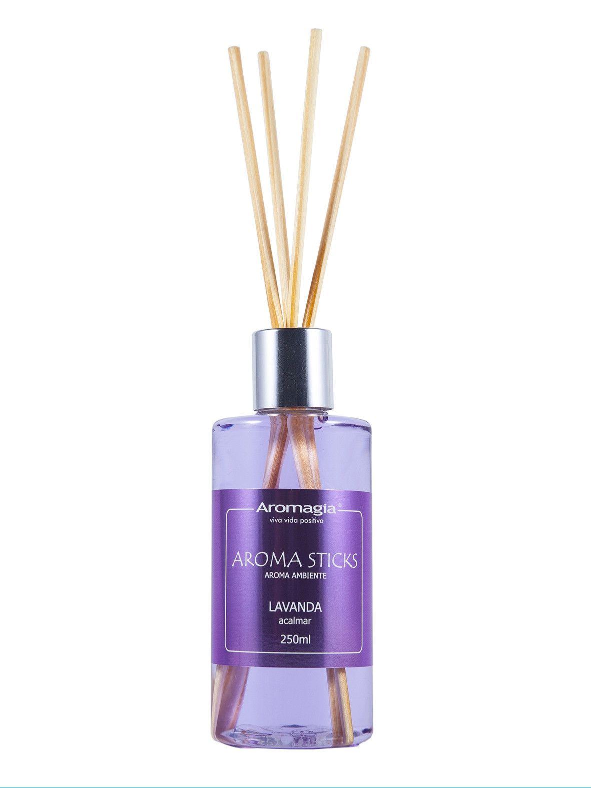 Difusor por varetas Aroma Sticks Aromagia - Lavanda 250ml - WNF