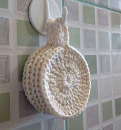 Discos Reutilizáveis de Crochê - Menos Lixo