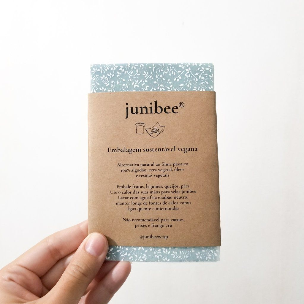 Embalagem Sustentável e Vegana - Tamanho P - Junibee