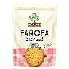 Farofa Orgânica Tradicional - 200g - Mãe Terra