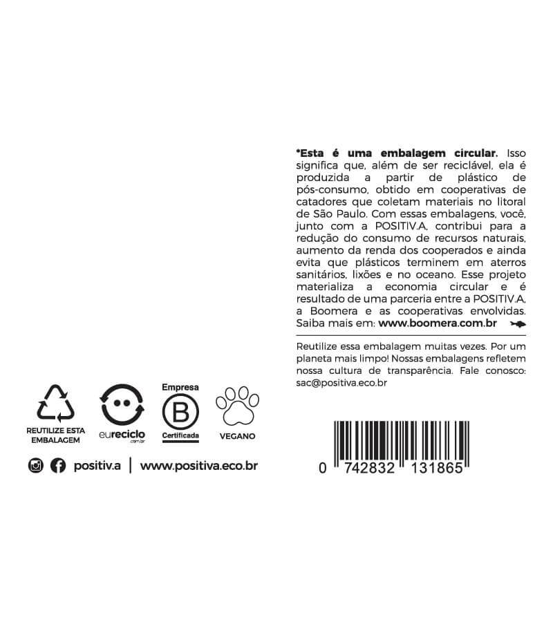 Frasco Auxiliar Lava Louças Pump 500ml - Plástico 100% reciclável - Positiva