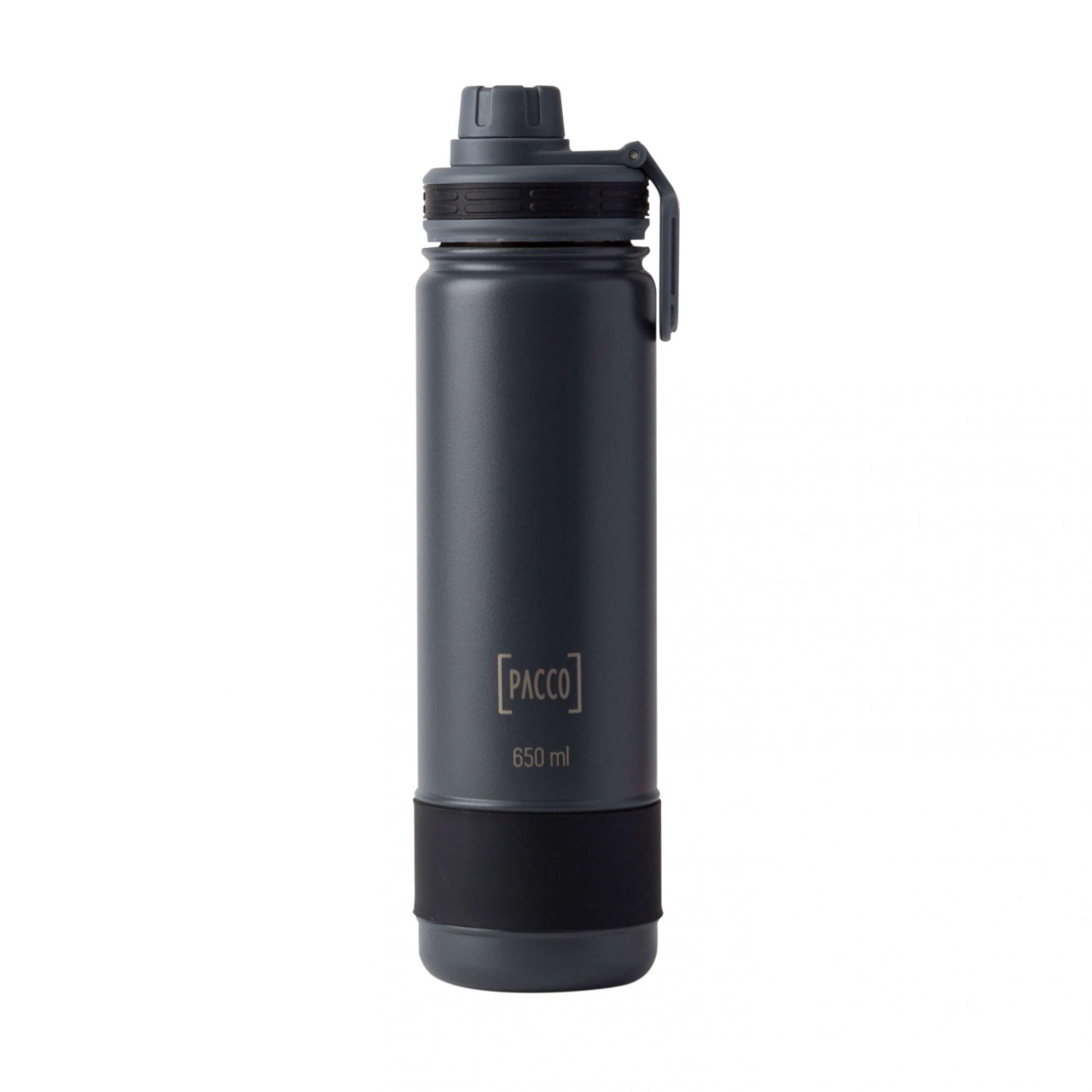 Garrafa Térmica Hydra Bottle 650ml Preta - Pacco