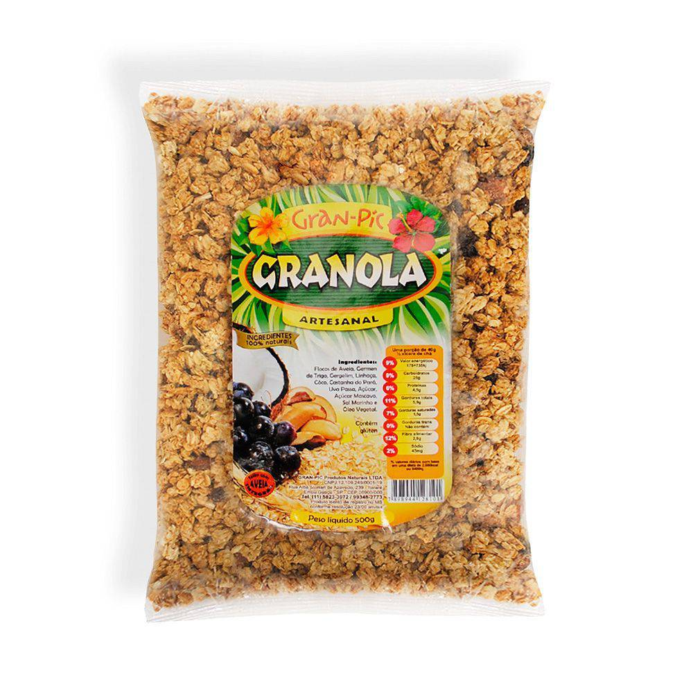Granola Artesanal 500 g - Gran-Pic