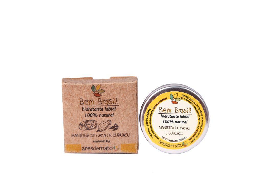 Hidratante Labial 100% Natural e Vegano- Ares de Mato
