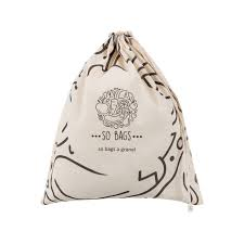 Kit sacos de algodão para compras a Granel - 3 unidades - So Bags