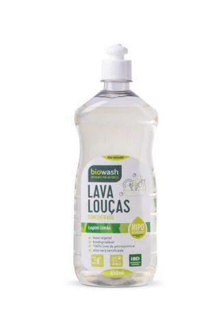 Lava Louças Natural e Biodegradável - Capim limão - 650ml - BioWash