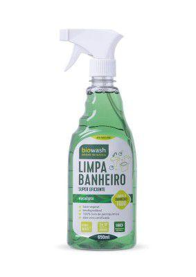 Limpa Banheiro Natural Pinho e Eucalipto 650ml - Gatilho - BioWash