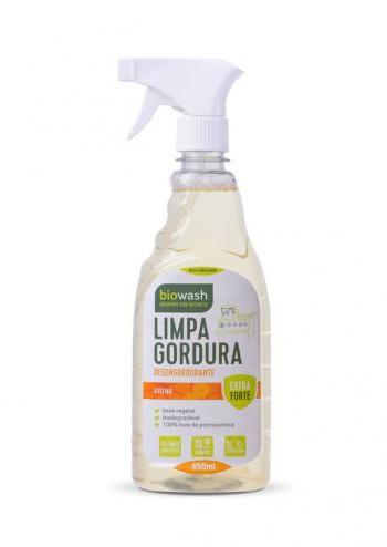 Limpa Gordura Natural e Biodegradável com Gatilho - 650ml Biowash