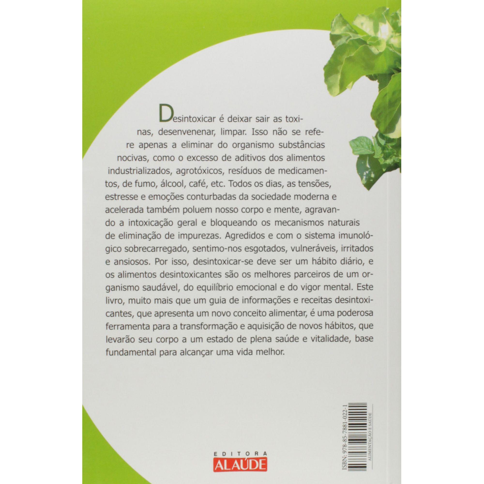 Livro - Alimentação Desintoxicante Para Ativar O Sistema Imunológico