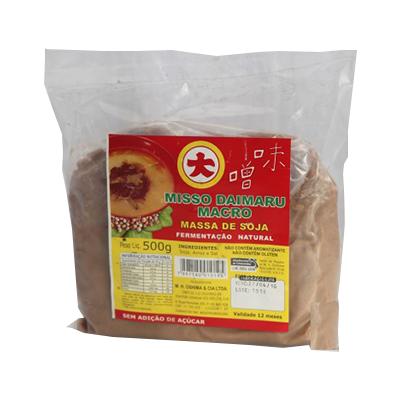 Massa de Soja Misso Claro Macrobiótico (fermentação natural)  - 500g - Daimaru