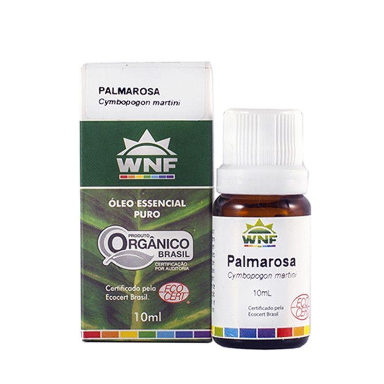 Óleo Essencial Palmarosa Orgânico WNF - 10ml