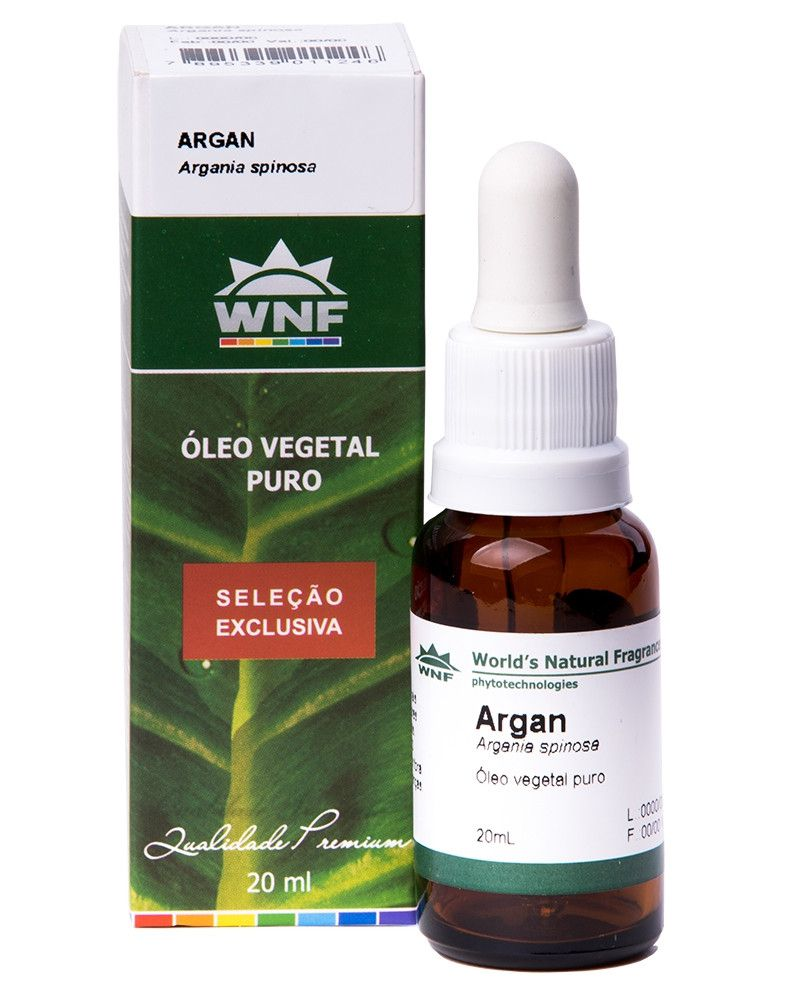 Óleo Vegetal Argan - 20ml - WNF