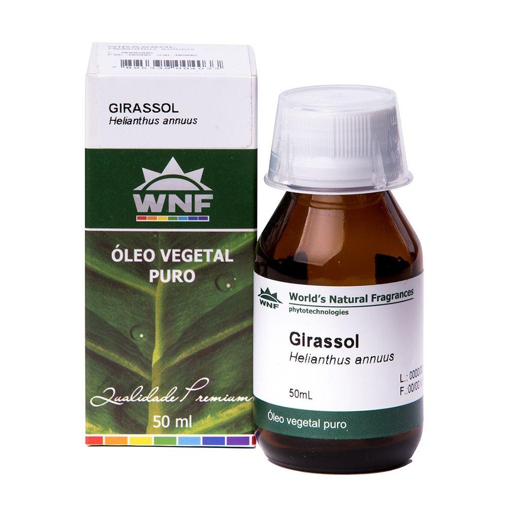 Óleo Vegetal Girassol - 50ml - WNF