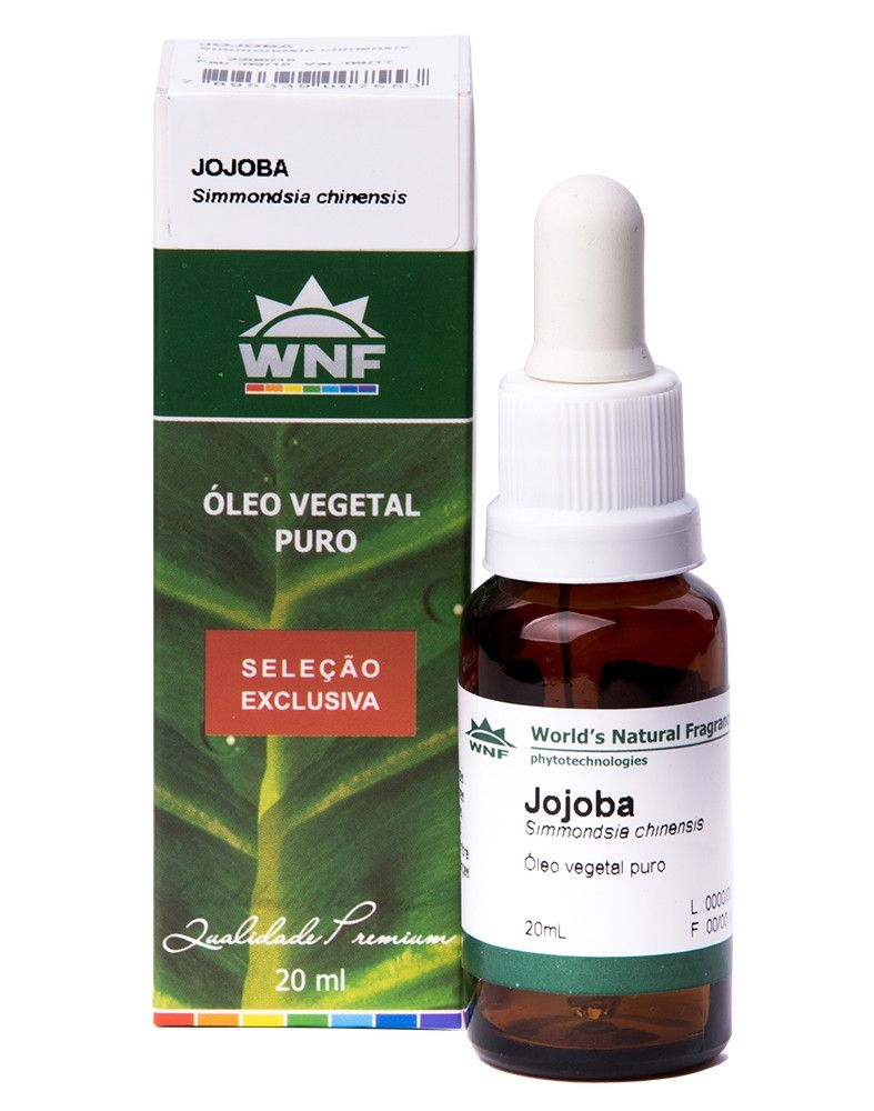Óleo Vegetal Jojoba - Seleção Exclusiva - 20ml - WNF