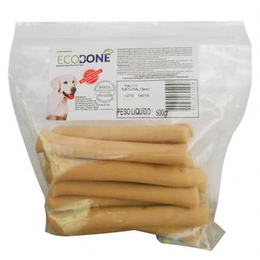Ossinho Palito para cachorro 100% vegetal 15mm - 500 g - EcoBone