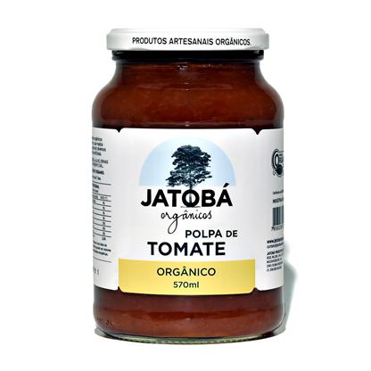 Polpa de Tomate Orgânico - 570g - Jatobá