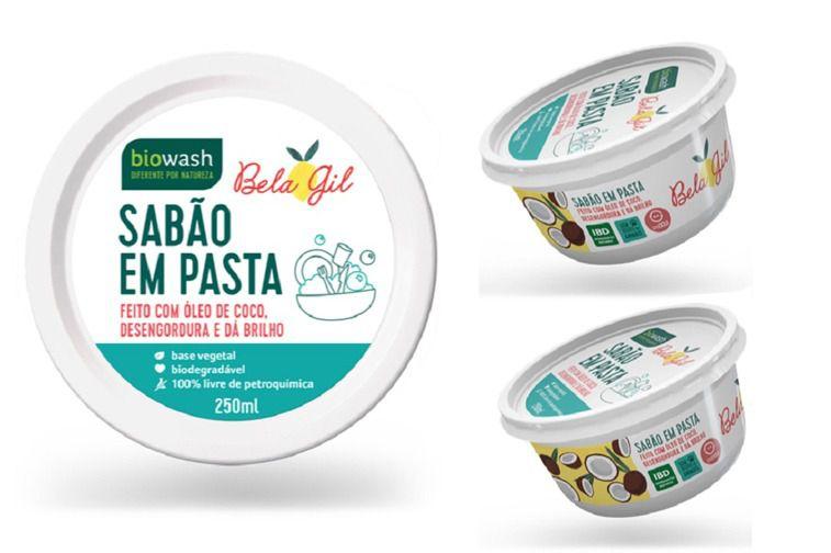 Sabão Em Pasta Natural Bela Gil 250g - Biowash