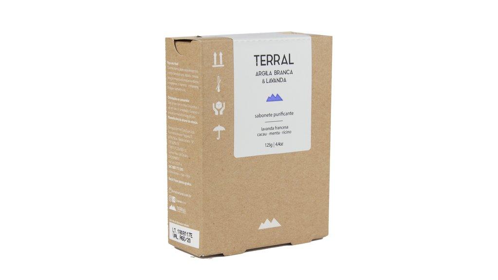 Sabonete Natural e Vegano - Argila Branca - 125g - Terral