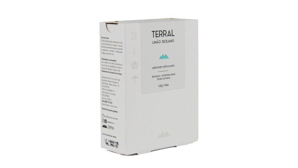 Sabonete Natural e Vegano - Limão Siciliano - 125g - Terral
