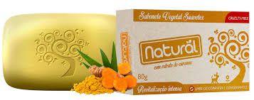 Sabonete Natural Suavetex Cúrcuma 80g - Orgânico Natural
