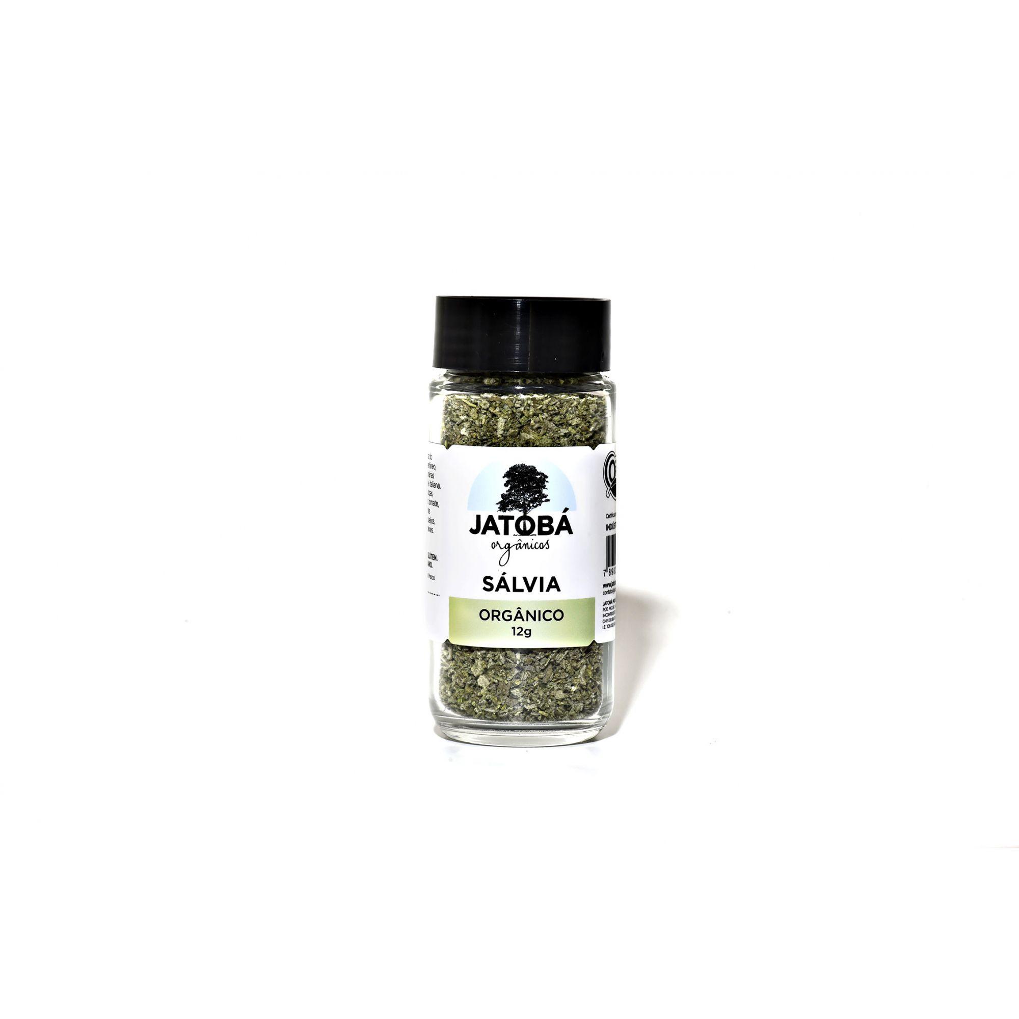 Salvia Orgânico 12g - Jatobá