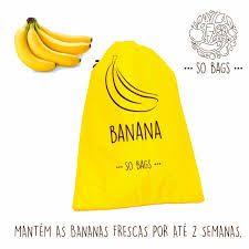 Saquinhos Conservadores de Alimento - Banana - So Bags