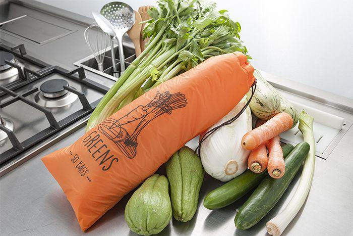 Saquinhos Conservadores de Alimento - Laranja (Legumes) - So Bags