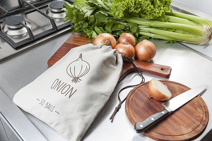 Saquinhos Conservadores de Alimento - Onion (Cebola) - So Bags