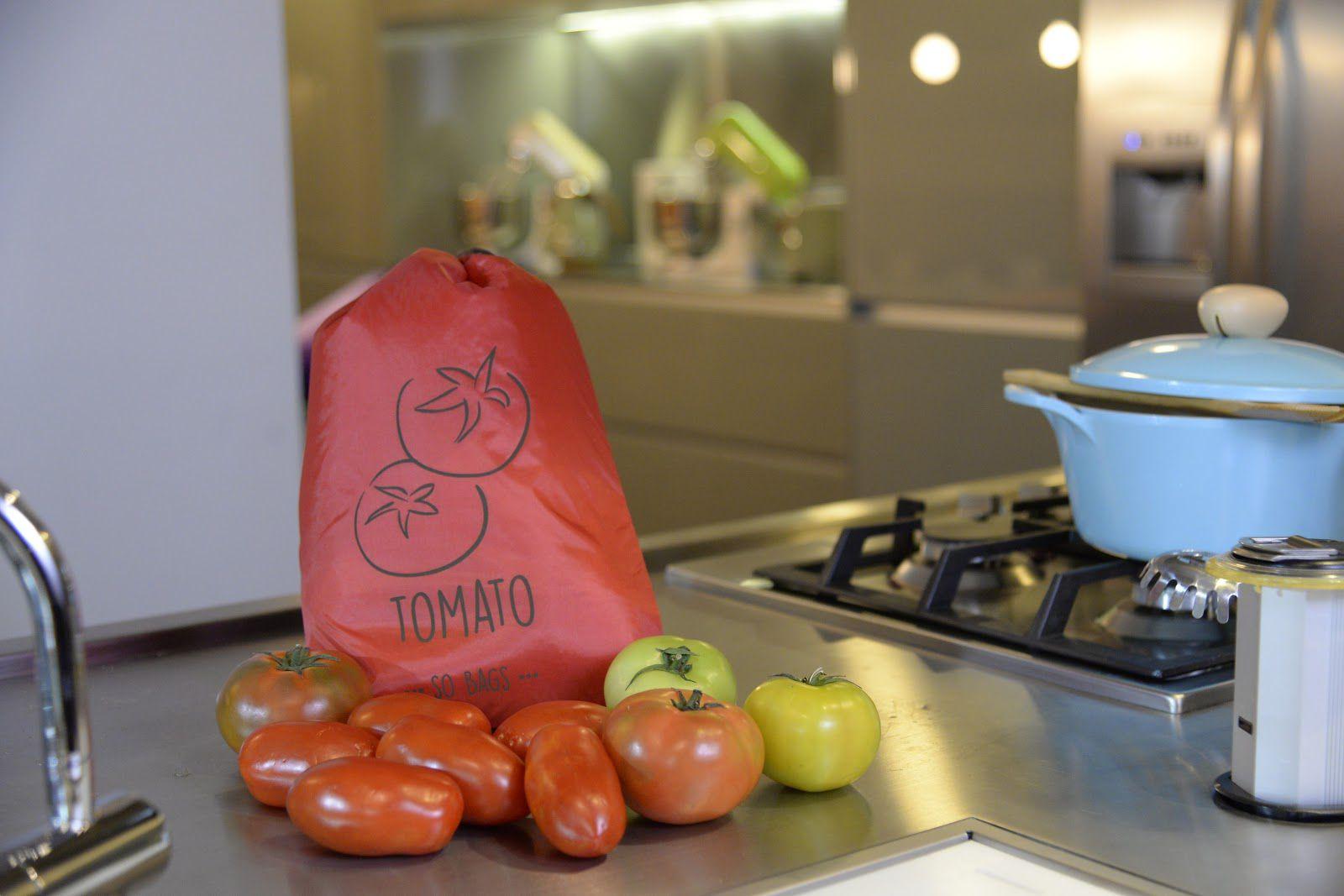 Saquinhos Conservadores de Alimento - Tomato (tomate) - So Bags