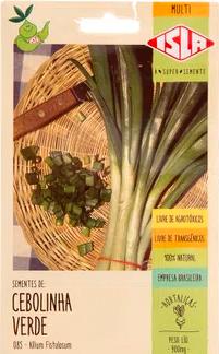 Sementes de Cebolinha Verde - Isla Sementes