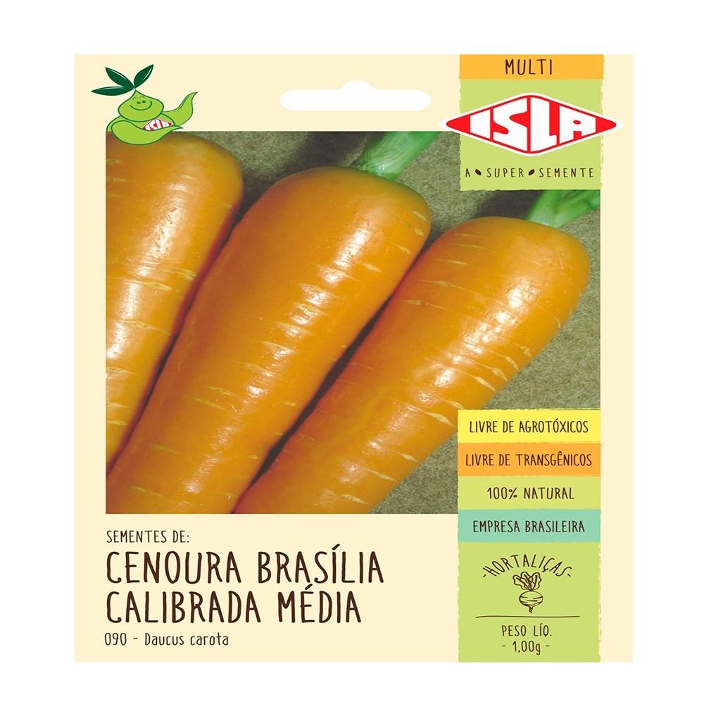 Sementes de Cenoura - Isla Sementes