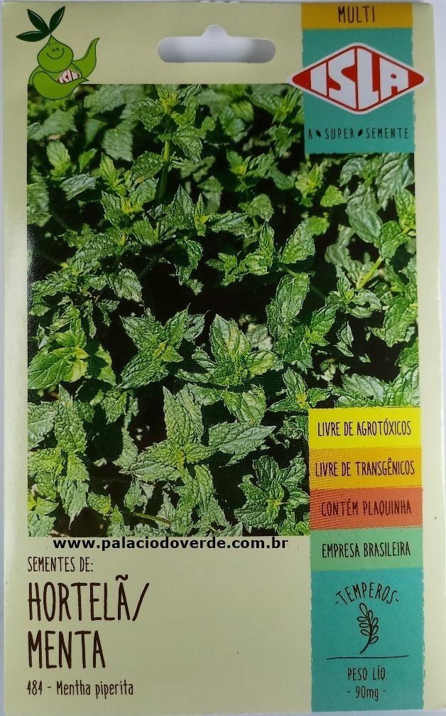 Sementes de Hortelã / Menta - Isla Sementes