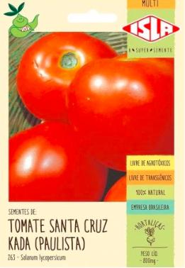 Sementes de Tomate Santa Cruz - Isla Sementes