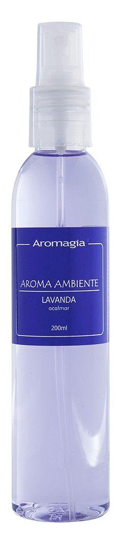 Spray De Ambiente Lavanda 200ml - Aromagia - WNF