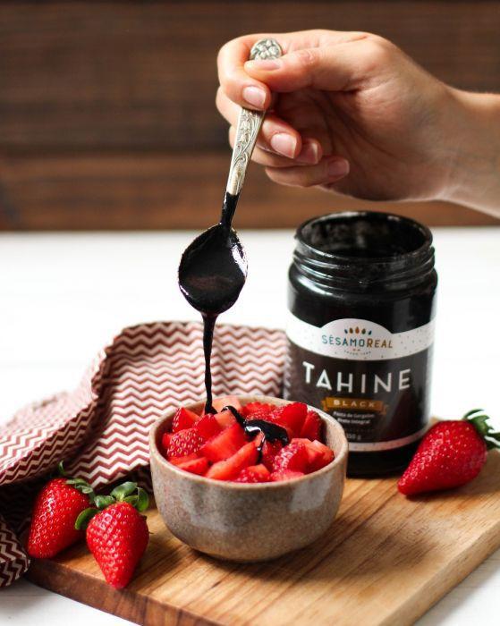 Tahine Black - Sem Glúten e Sem Lactose - 350g - Sésamo Real