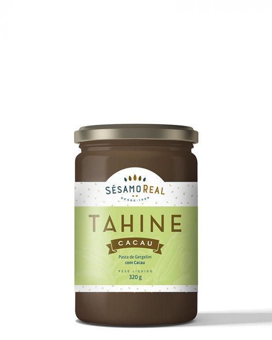 Tahine com Cacau 320g - Sem Glúten e Sem Lactose -Sésamo Real