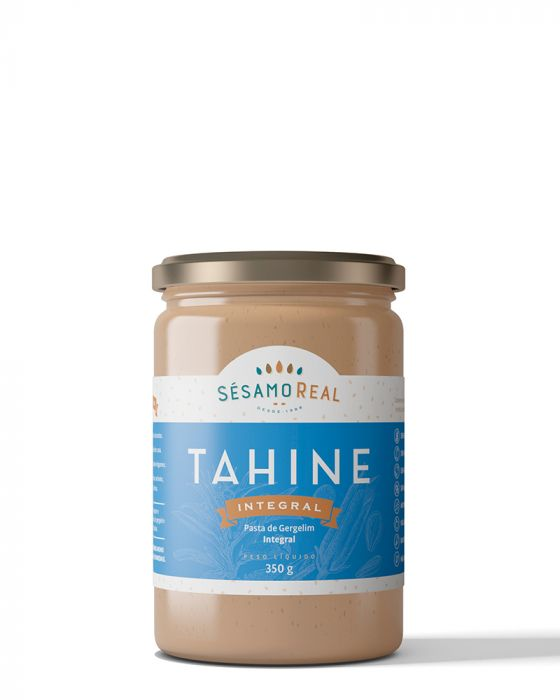 Tahine Integral - Sem Glúten e Sem Lactose - 320g Sésamo Real