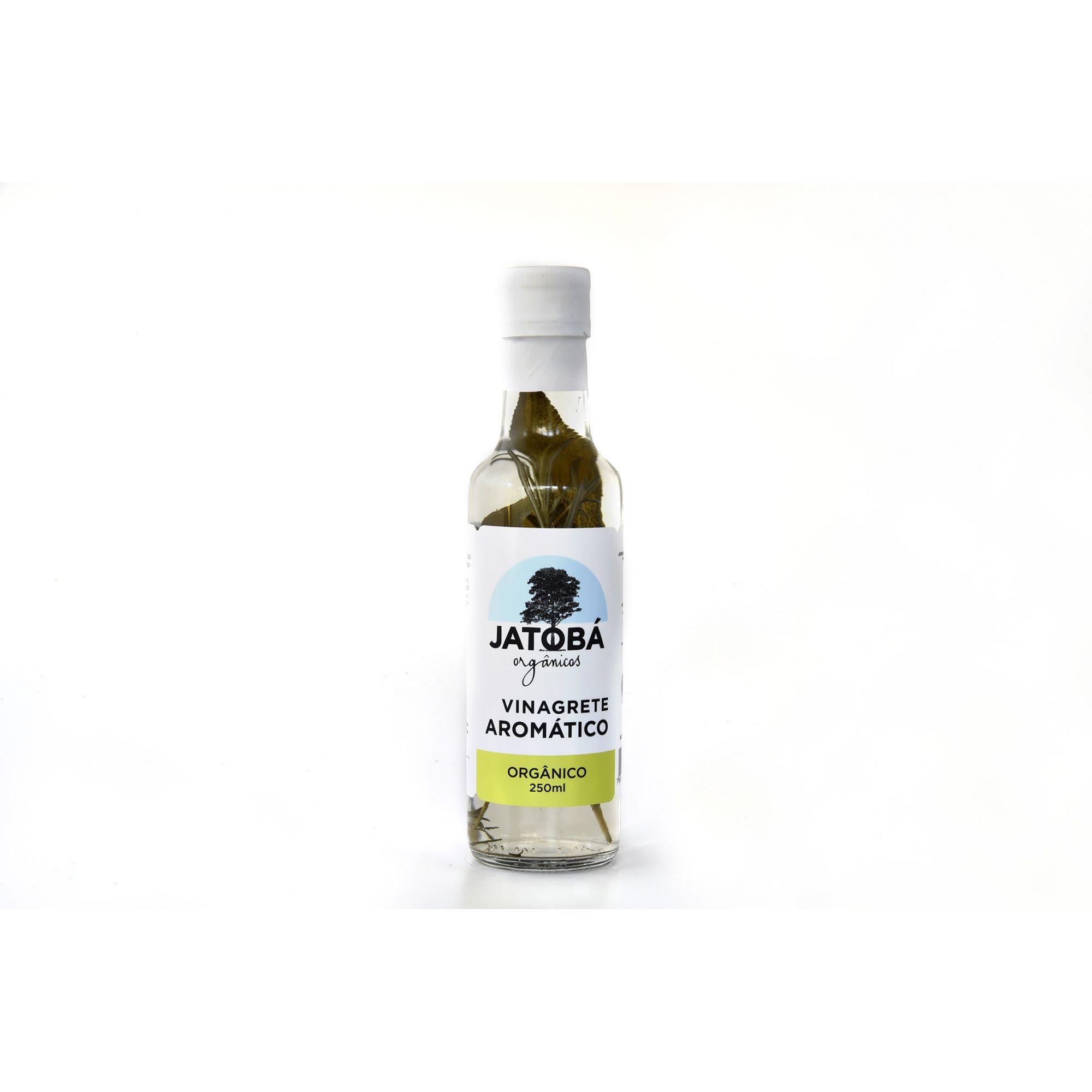 Vinagrete Aromático Orgânico 250 Ml - Jatobá