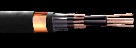 14 x 4,0 mm  cabo controle Cobreflex blind. fita cu nu 1kv pvc/pvc 70º flex.  (R$/m)