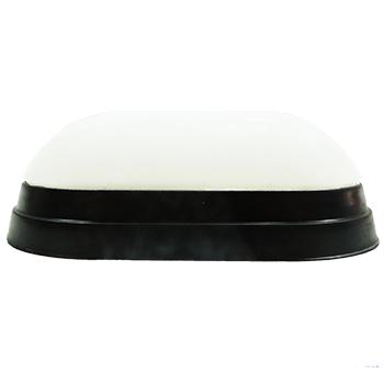 arandela tartaruga de led slim com fixação magnética preta