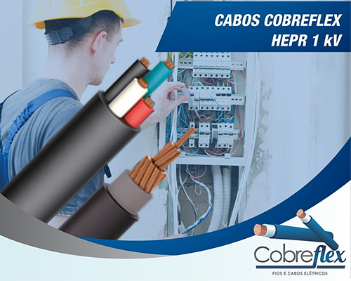 1,50 mm cabo flexivel Cobreflex 0,6/1kv hepr (100m)  - Multiplus Store