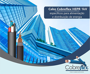 3 x 2,50 mm cabo flexivel Cobreflex 0,6/1kv hepr (R$/m)  - Multiplus Store