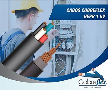 4 x 2,50 mm cabo flexivel Cobreflex 0,6/1kv hepr (R$/m)  - Multiplus Store