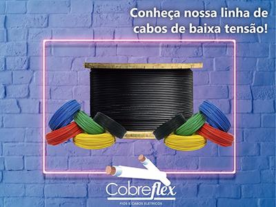 4 x 6,00 mm cabo flexivel Cobreflex 0,6/1kv hepr (R$/m)  - Multiplus Store