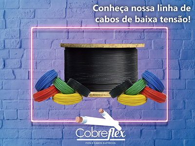 4,00 mm cabo flexivel Cobreflex 450/750v (100m)  - Multiplus Store