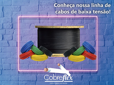 2 x 2,5mm cabo flexivel Cobreflex atox hepr 0,6/1kv (R$/m)  - Multiplus Store